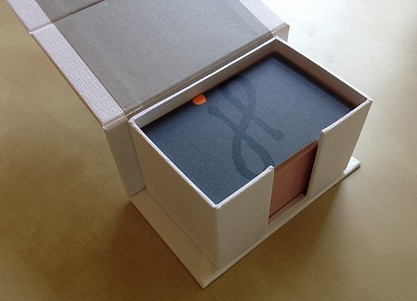 Moo business card box